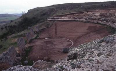 Anfiteatro romano de Clunia
