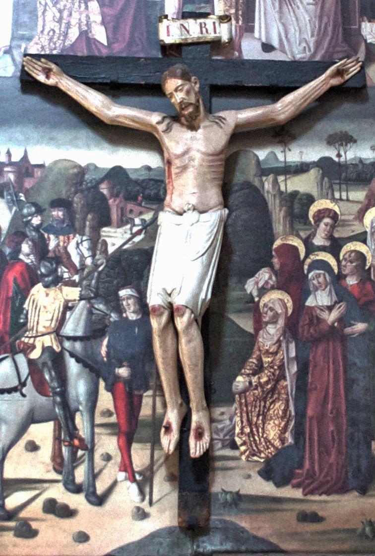 Cristo de Santa Tigridia (románico siglo XII)
