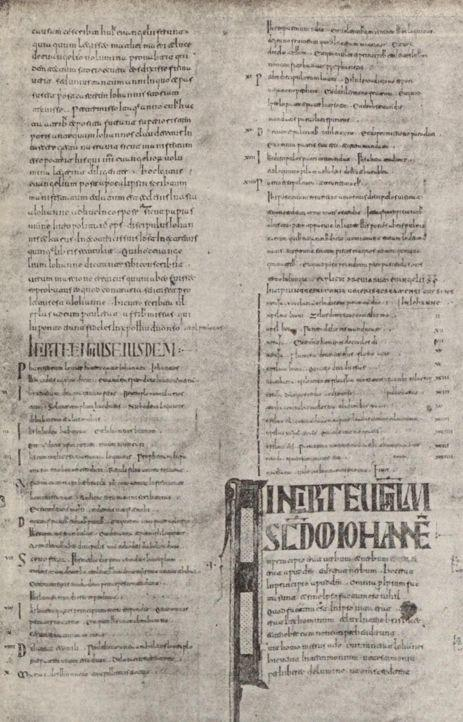 Fragmento de la Biblia de Oña de Florencio de Valeránica